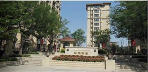 潍fang市卧龙新居小区绿化工程
