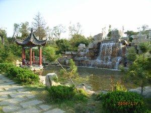 weifangshi虞河综合zheng治园林jing观gong程